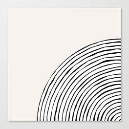 Concentric Circles Canvas Print