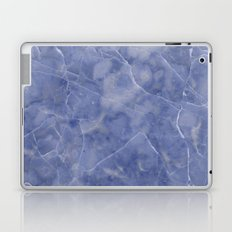 Marble Texture - Icy Blue Marble Laptop & iPad Skin