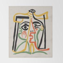 Picasso - Woman's head #1 Decke