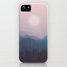 Pink Fog iPhone Case