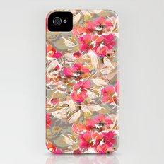 Roses in retro iPhone (4, 4s) Slim Case