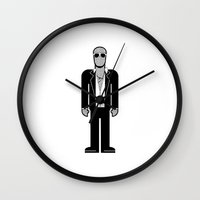 seal Wall Clocks featuring Seal by Band Land