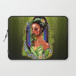 The Madness of Tiana and the Frog Laptop Sleeve