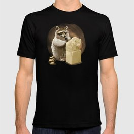 Raccoon in Pursuit of Perfection T-shirt