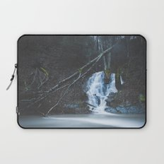 Emerging waterfall after the flood Laptop Sleeve