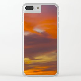Like Wildfire Clear iPhone Case