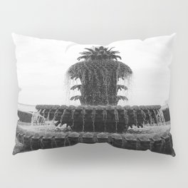 Pineapple Fountain Charleston River Park Pillow Sham