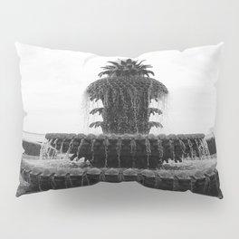 Pineapple Fountain Charleston River Park Pillow Sham