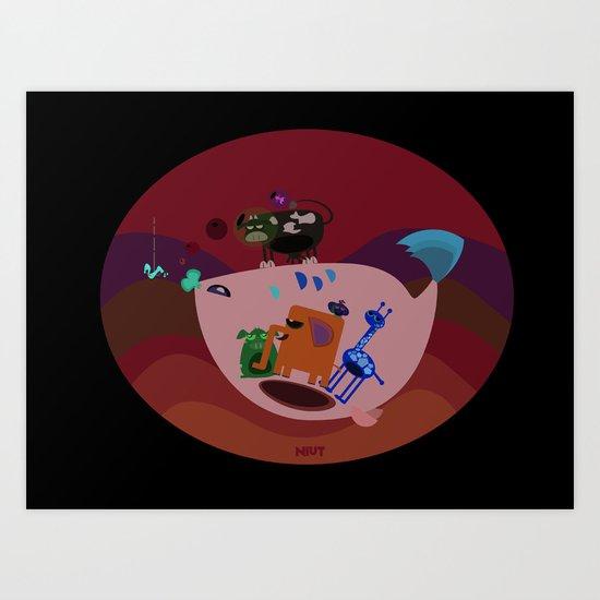 niut's zoo Art Print