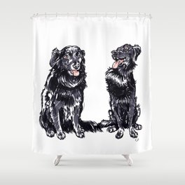Gordon and Charlie Shower Curtain