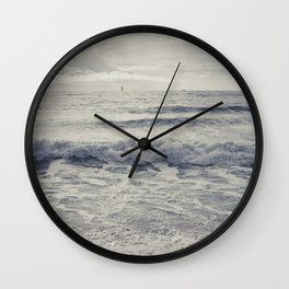 the distant birds Wall Clock