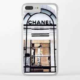 Boutique Clear iPhone Case