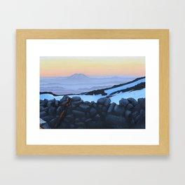 Heaven St. Helen Framed Art Print