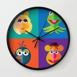 Muppet Minimalism Wall Clock