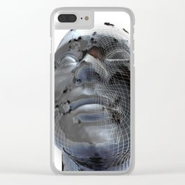 Look to the future Clear iPhone Case