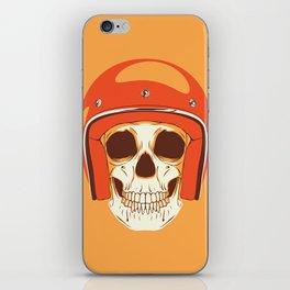 Helmet Skull iPhone Skin