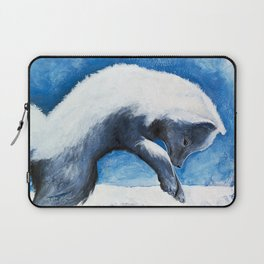 Animal - Antoine the Artic Fox - by LiliFlore Laptop Sleeve