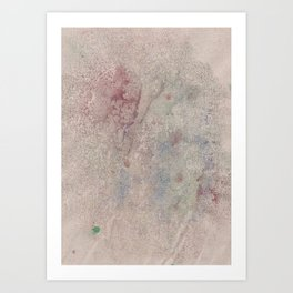 Informal texture Art Print