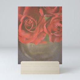 Scarlet Roses. Mini Art Print