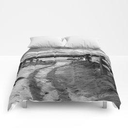 Beach Path Comforters