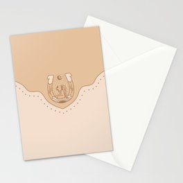 Good Fortune Gal - Neutrals  Stationery Cards