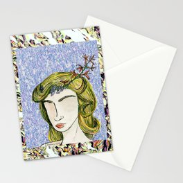 Distinction in Solitude Stationery Cards