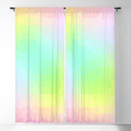 Dimensional Pastel Scales Blackout Curtain