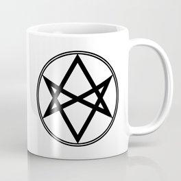 Men of Letters Symbol Black Coffee Mug