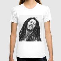 marley T-shirts featuring Marley ballpoint pen by David Kokot