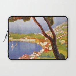 Ischia Island Italy summer travel ad Laptop Sleeve