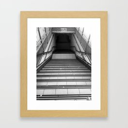 Mind The Step Framed Art Print