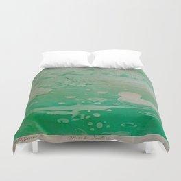 MoonSea Fantasy lightgreen Duvet Cover