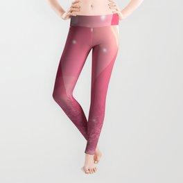 Magic winter pink Leggings