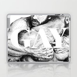 Gay Lettering Typography Laptop & iPad Skin
