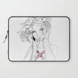 Can You Here Me Now Laptop Sleeve
