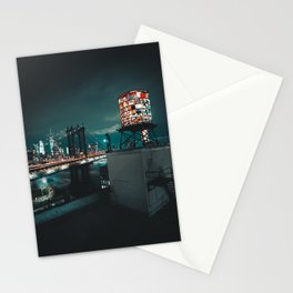 The Water Tower New York City (Color) Stationery Cards