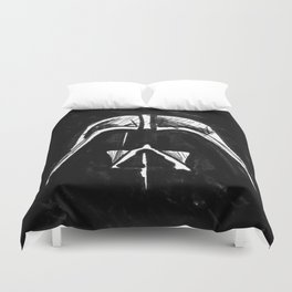 Legend of a Dark Father Duvet Cover