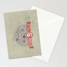 Born To Cycle Stationery Cards