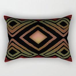 Muted Earth Rectangular Pillow