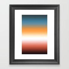Gradient (Cone Nebula) Framed Art Print