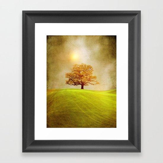 Energy & love  Framed Art Print
