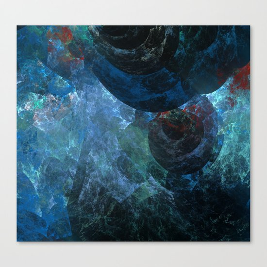 Beneath The Sea Canvas Print