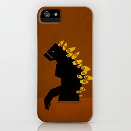 Miradas de Odio - Hate´s Looks iPhone Case