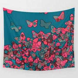 Flutterflies Wall Tapestry