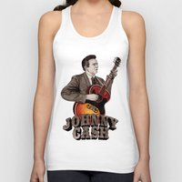 johnny cash Tank Tops featuring Johnny Cash by Daniel Cash