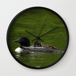 Loo-Ber Wall Clock
