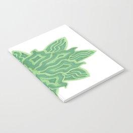 Emerald Flower Notebook