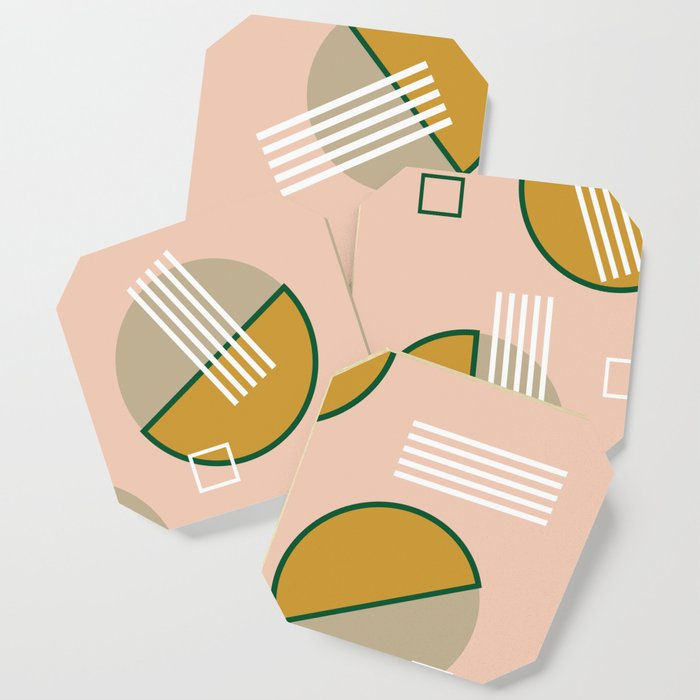 Abstract Composition 09 Coaster