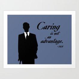 Mycroft's Advantage Art Print