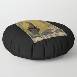 The Magician Floor Pillow